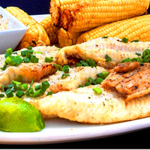 Cajun Catfish Fillets with Sweet & Spicy Tarter Sauce