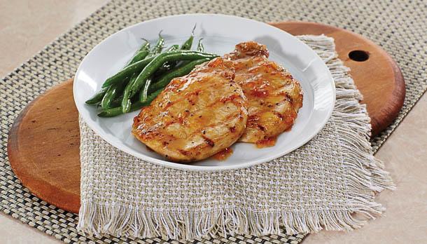 Sunny's 1-2-3 Easy Pork Chops
