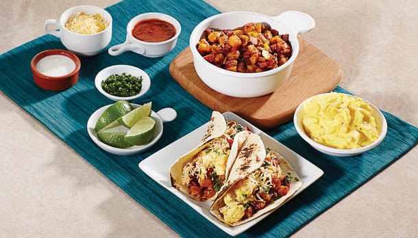 Sunny's Hash Brown Breakfast Fast Tacos