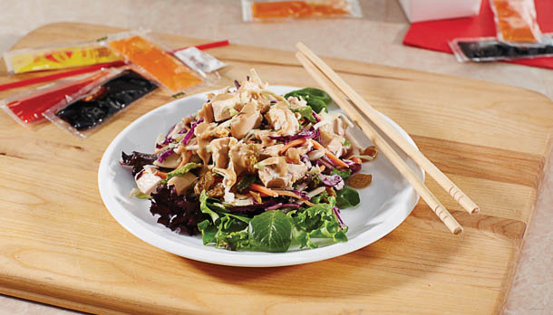 Sunny's Fast Food Condiment Packet Chinese Chicken Salad