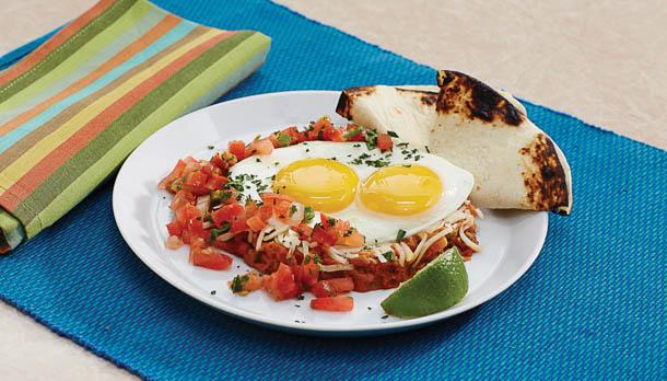 Sunny's Insta Huevos Rancheros