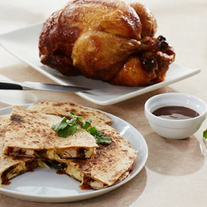 Barbecue Chicken Quesadilla