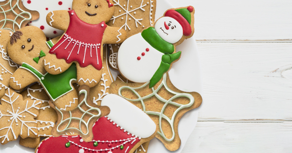 Microwave Gingerbread Cookies